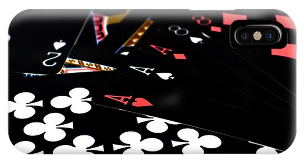 Aces And Eights IPhone Case