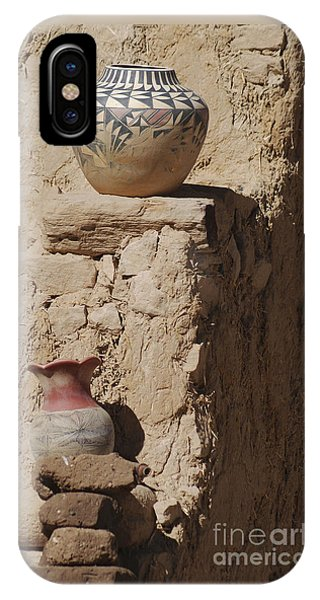 Acoma Pueblo Pottery IPhone Case