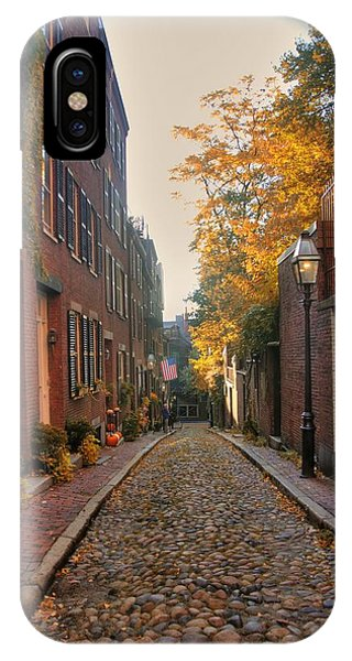 Acorn St. 3 IPhone Case