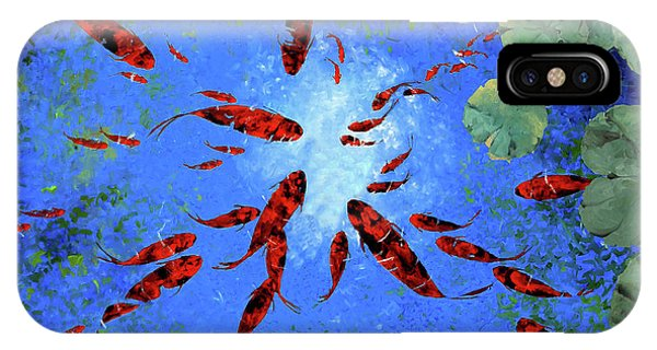 Lake iPhone Case - Acqua Azzurra by Guido Borelli