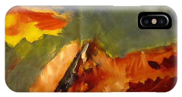 Across The Divide IPhone Case