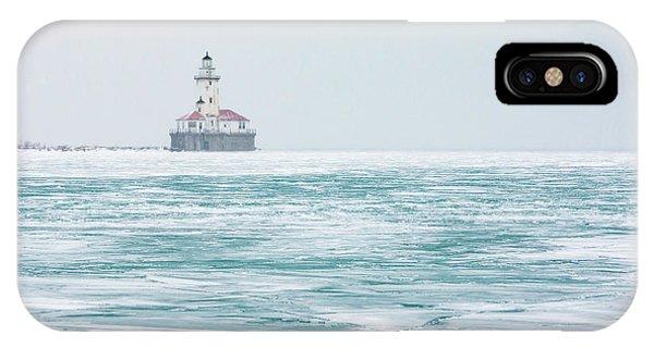 Across The Frozen Lake IPhone Case