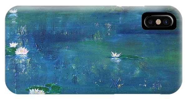 Across The Lily Pond IPhone Case