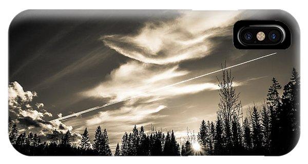 Across The Sky IPhone Case