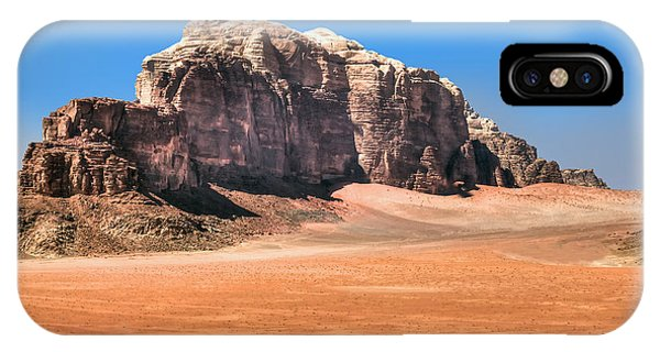 Across Wadi Rum IPhone Case