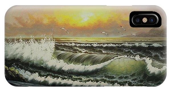 Acrylic Msc 148 IPhone Case
