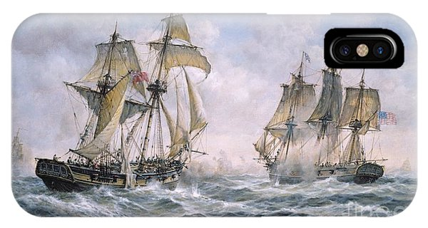 Action Between U.s. Sloop-of-war 'wasp' And H.m. Brig-of-war 'frolic' IPhone Case