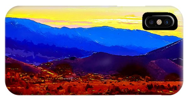 Acton California Sunset IPhone Case