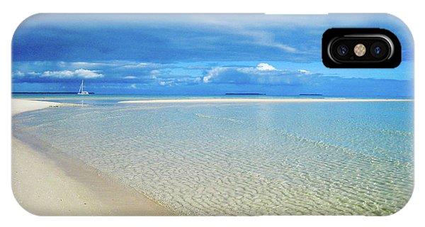 Adagio Alone In Ouvea, South Pacific IPhone Case