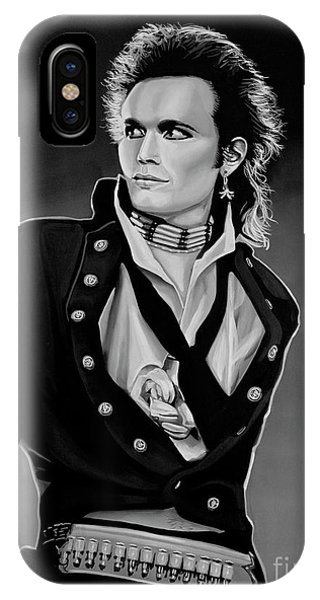 Ant iPhone Case - Adam Ant Painting by Paul Meijering