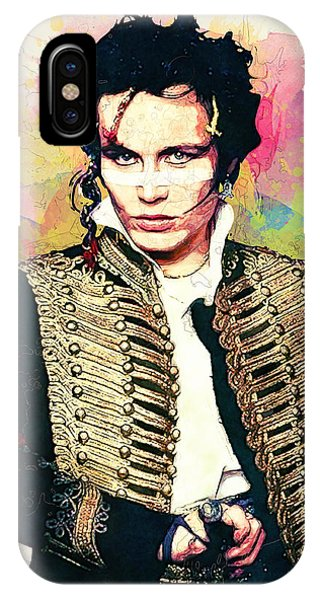 Robert Smith Music iPhone Case - Adam Ant by Zapista