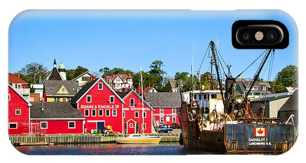 Adams And Knickle Fishing Company IPhone Case