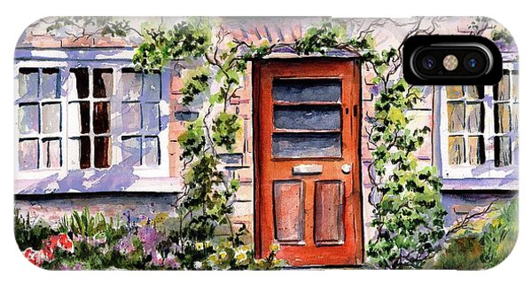 Adare Ireland Cottage IPhone Case