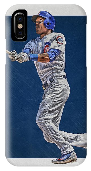 Addison Russell Chicago Cubs Art IPhone Case