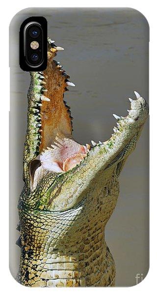 Adelaide River Crocodile IPhone Case