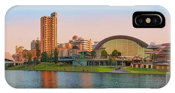 Adelaide Riverbank Panorama IPhone Case