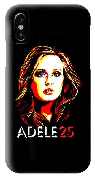 Adele iPhone Case - Adele 25-1 by Tim Gilliland