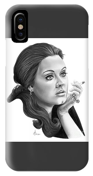 Adele iPhone Case - Adele by Murphy Elliott