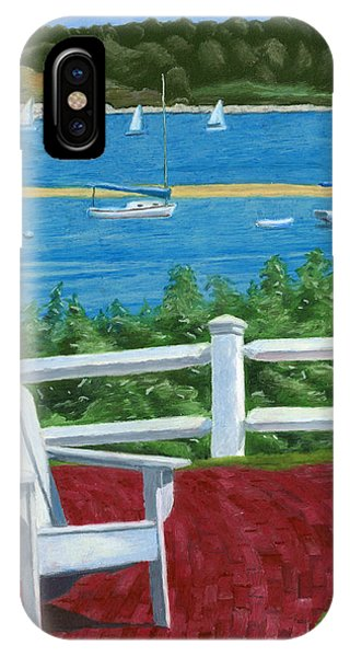 Adirondack Chair On Cape Cod IPhone Case