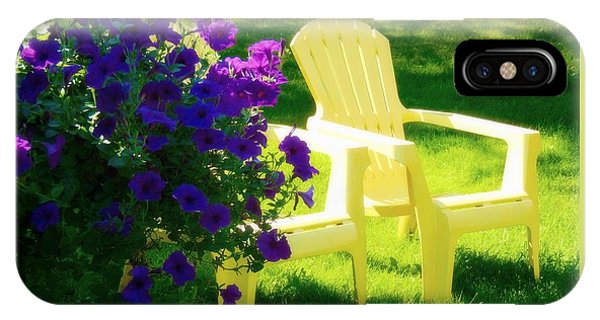 Adirondack Summer Days IPhone Case