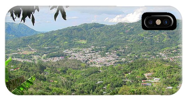 Adjuntas Town IPhone Case