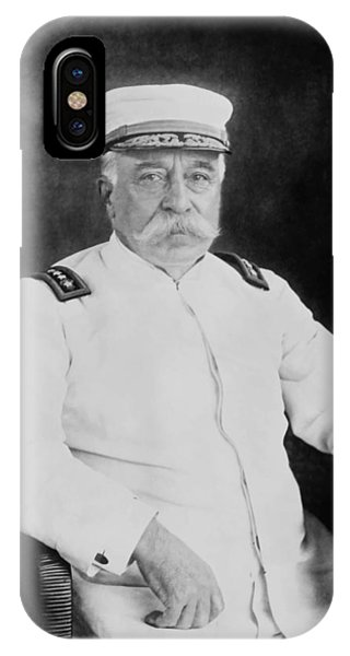 George iPhone Case - Admiral George Dewey by War Is Hell Store