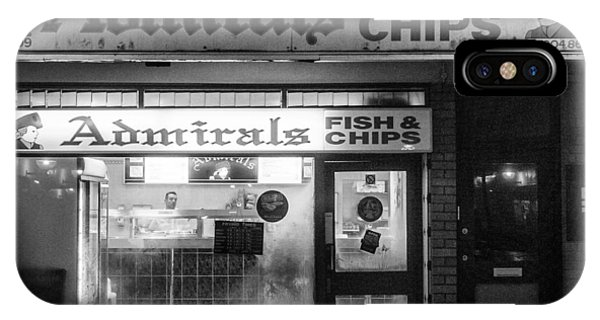 Admirals Fish And Chips IPhone Case