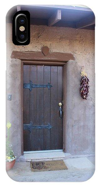 Adobe Door IPhone Case