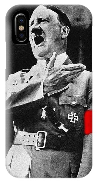 Adolf Hitler Ranting 1  IPhone Case