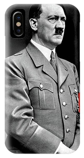 Adolf Hitler The Visionary Circa 1941 Color Added 2016 IPhone Case