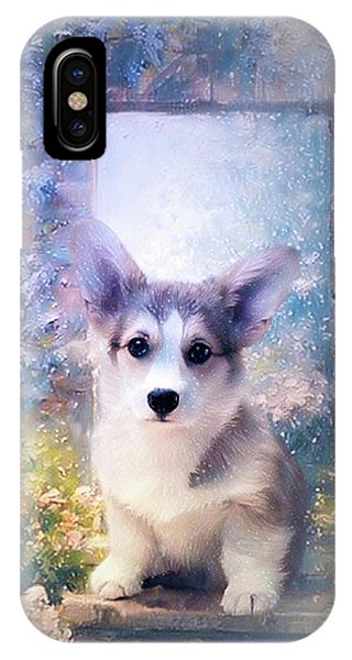 Adorable Corgi Puppy IPhone Case