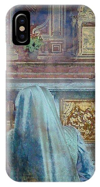 Adoration Chapel 3 IPhone Case