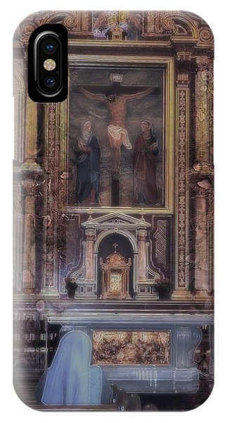 IPhone Case featuring the photograph Adoration Chapel 5 by Kate Word