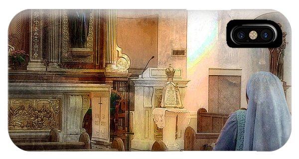 Adoration Chapel IPhone Case