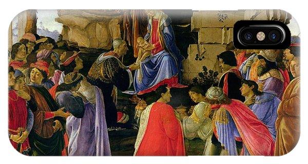 Botticelli iPhone Case - Adoration Of The Magi by Sandro Botticelli