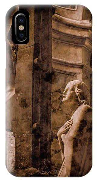Paris, France - Adoring Angel IPhone Case