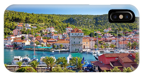 Adriatic Village Of Marina Near Trogir IPhone Case