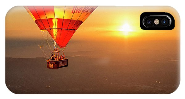 IPhone Case featuring the photograph Adrift In The Mist At Sunrise by Ray Warren