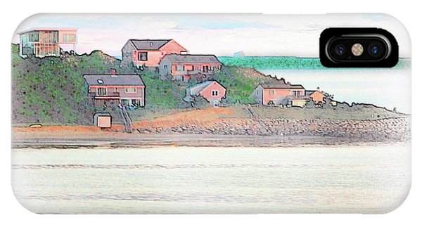 Adrift On The Bay At Sunset IPhone Case