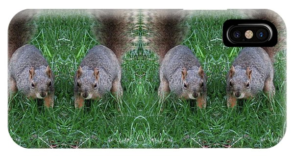 Advancing Army Of Squirrels IPhone Case