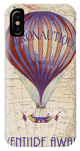 Hot Air Balloons iPhone Case - Adventure Awaits by Delphimages Photo Creations
