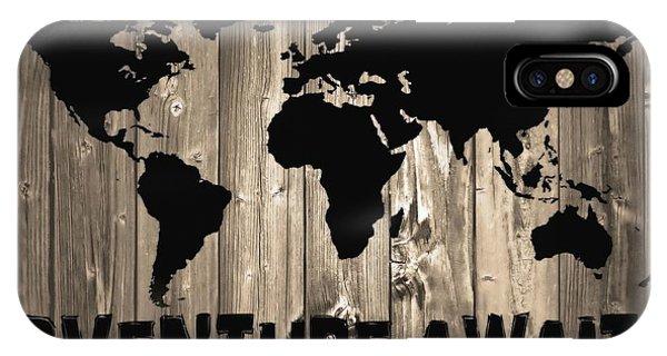 Traveler iPhone Case - Adventure Awaits Graphic Barn Door by Dan Sproul
