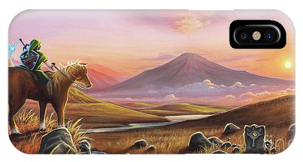 Elf iPhone Case - Adventure Awaits by Joe Mandrick