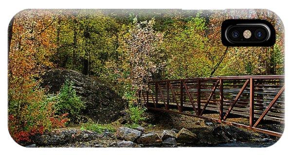 IPhone Case featuring the photograph Adventure Bridge by Scott Read