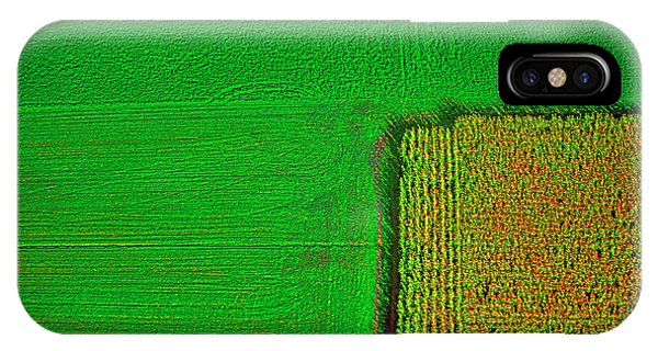 Aerial Farm Mchenry Il  IPhone Case