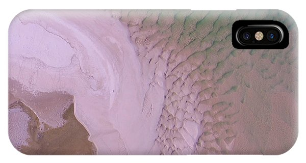 IPhone Case featuring the photograph Aerial Image Of Noosa River Fine Details by Keiran Lusk