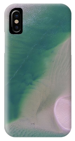 IPhone Case featuring the photograph Aerial Photo Of Noosa River In Detail by Keiran Lusk