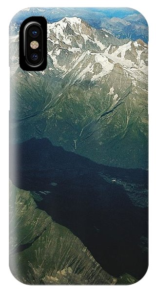 Aerial Photograph Of The Swiss Alps IPhone Case