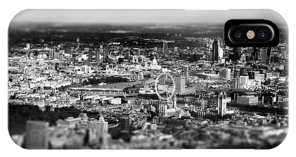 Aerial View Of London 6 IPhone Case
