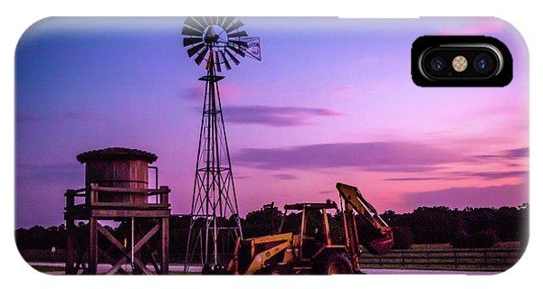 Aeromotor Windmill IPhone Case